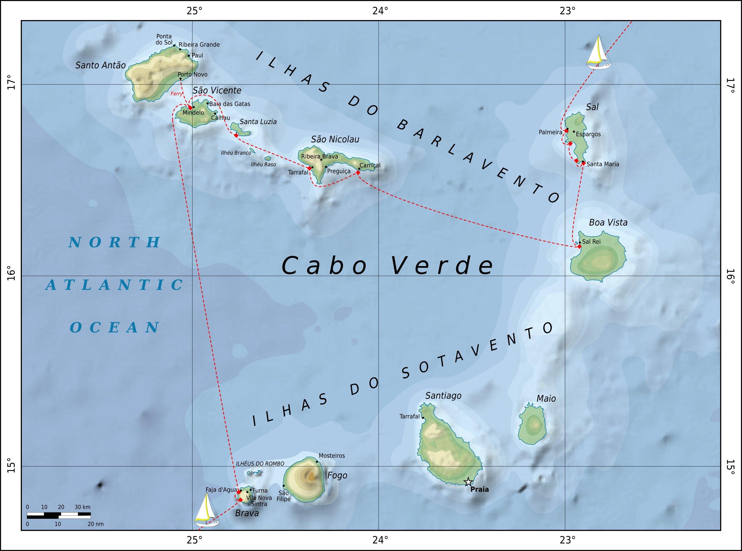 Cape Verdes » Pitufa.at